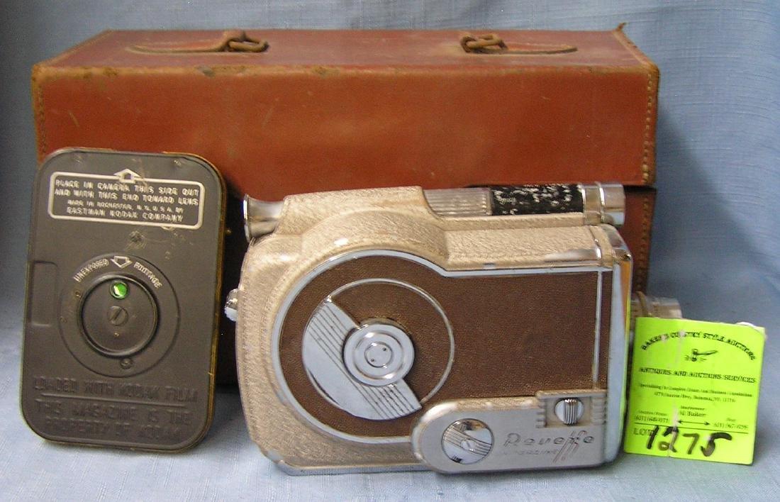 Vintage Revere movie camera