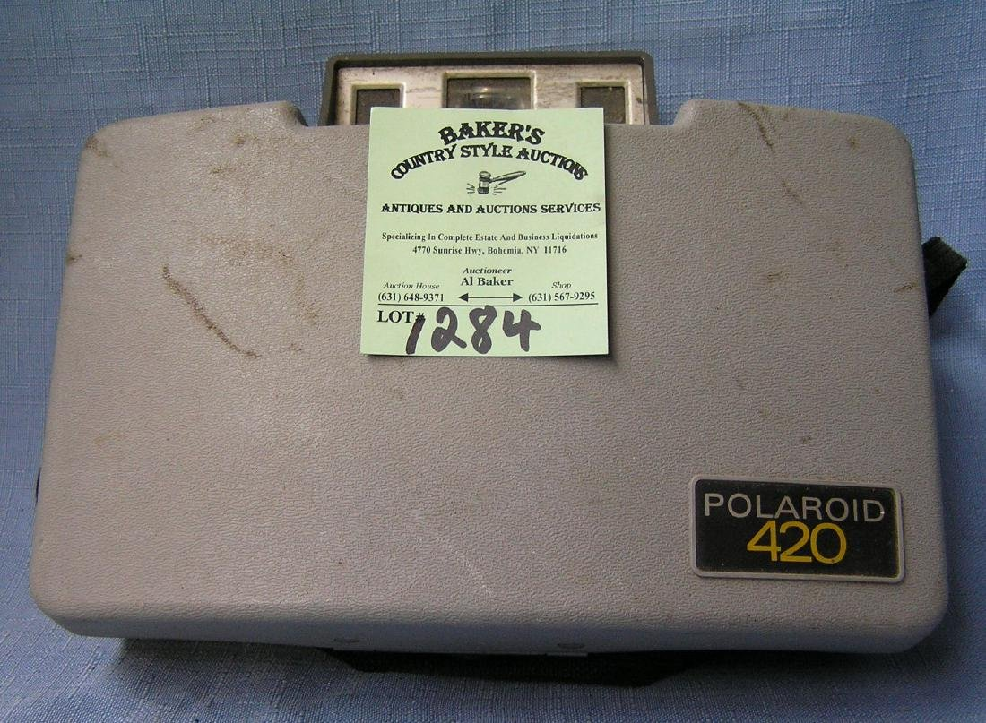 Vintage Polaroid 420 land camera