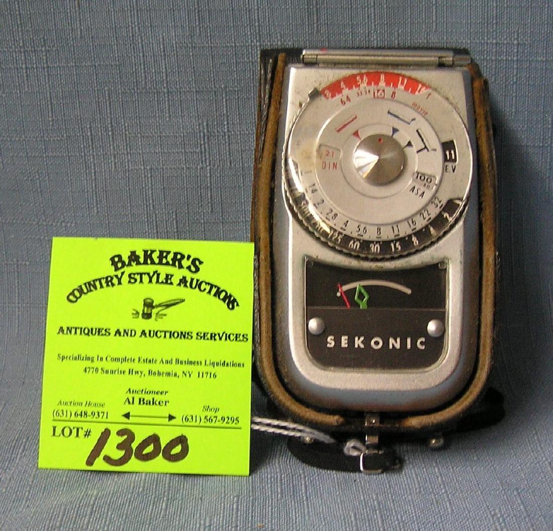 Vintage Sekonic photographers timer