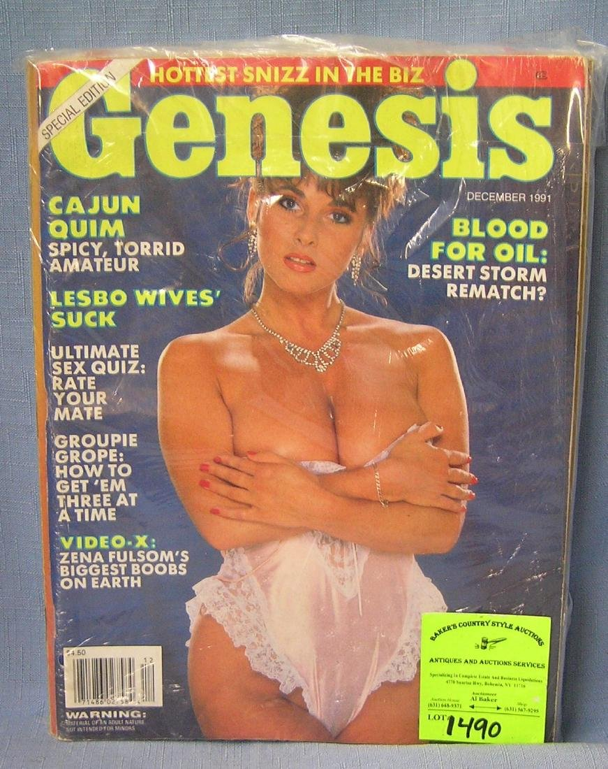 Collection of vintage men's magazines