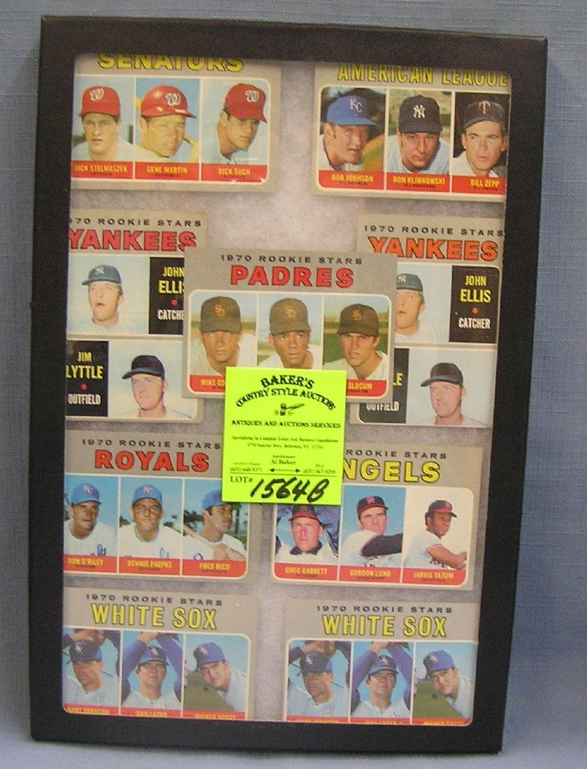 Group of 1970's Topps rookie Baseball cards