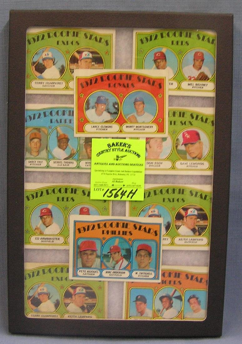 Group of 1972 Topps rookie Baseball cards
