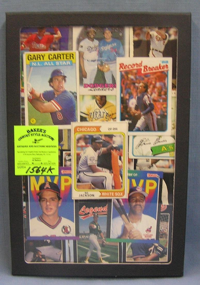Group of vintage all star Baseball cards