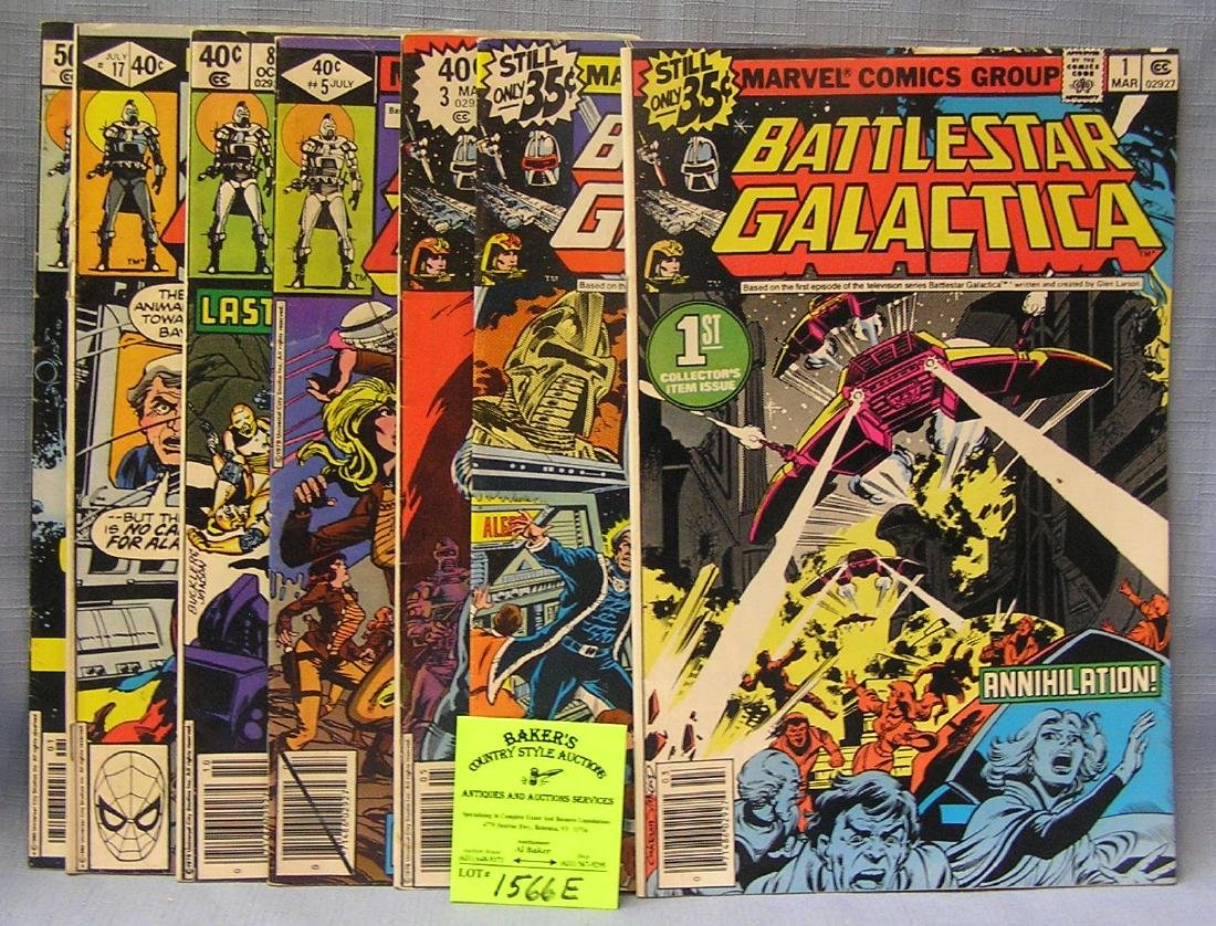 Marvel Battlestar Gallactica comic books