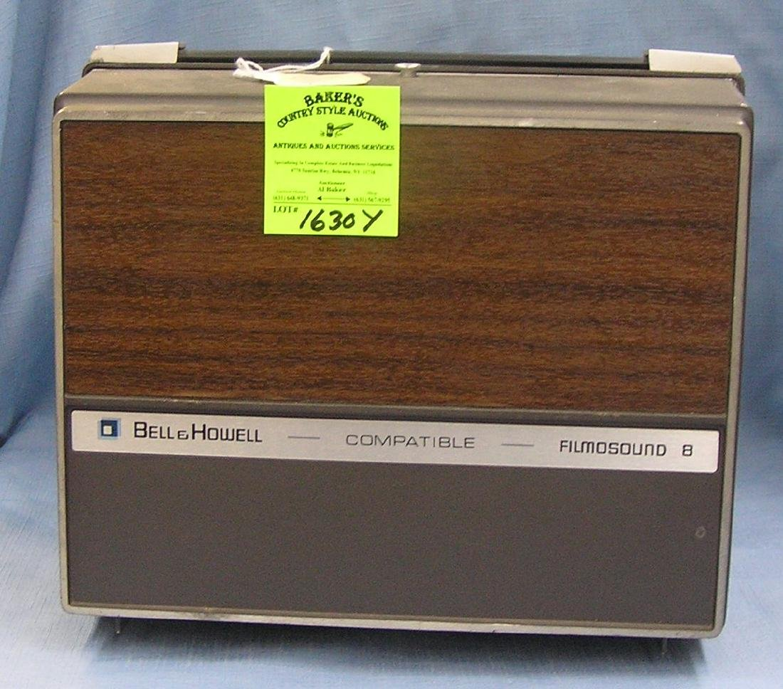 Bell and Howell 8mm film sound projector