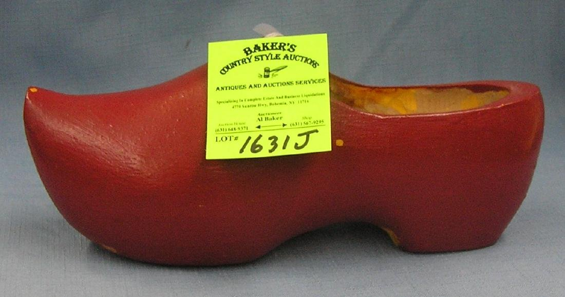 Antique wood shoe made in Holland
