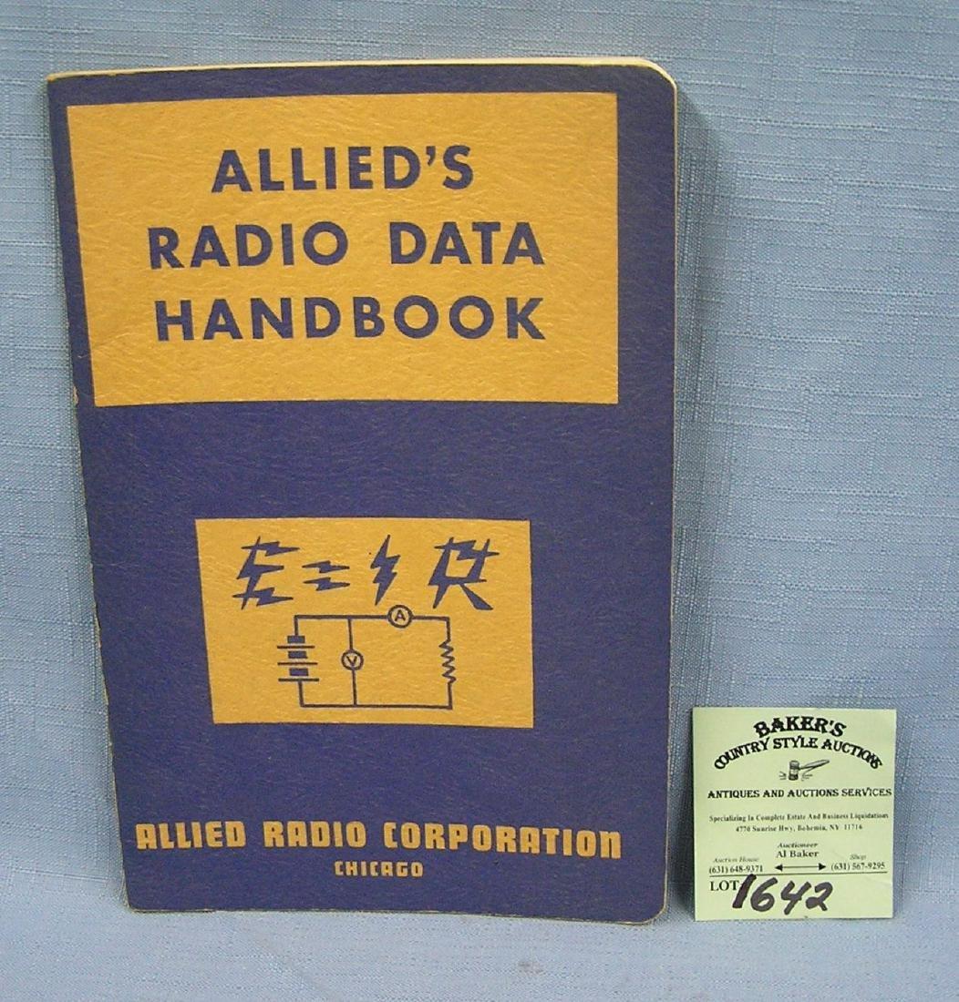 Allied Radio Data handbook