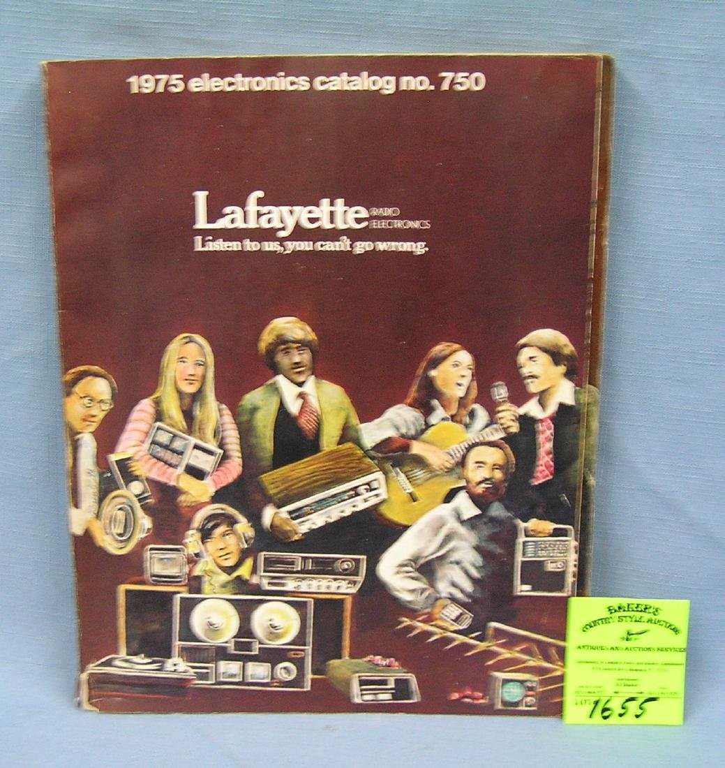 Vintage Lafayette stereo equipment catalog