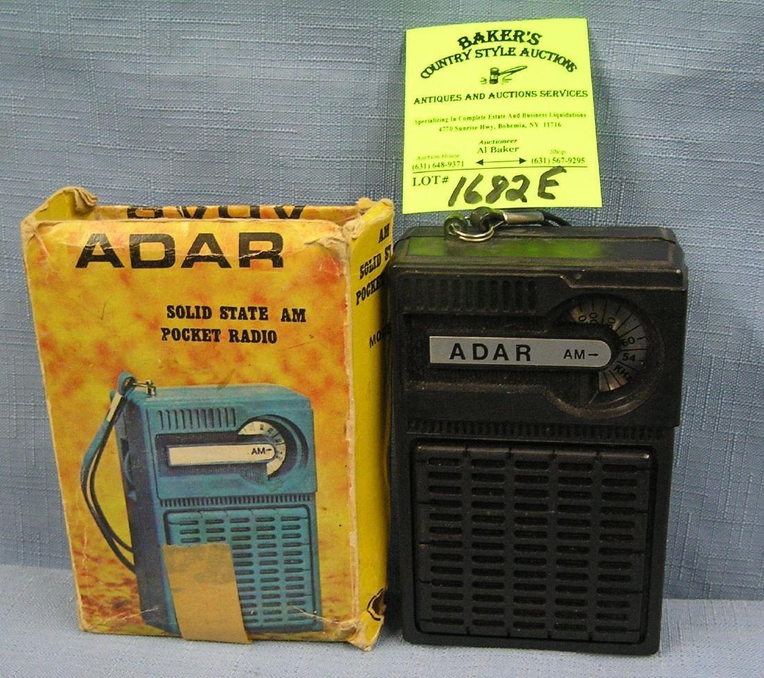 Vintage solid state transistor radio