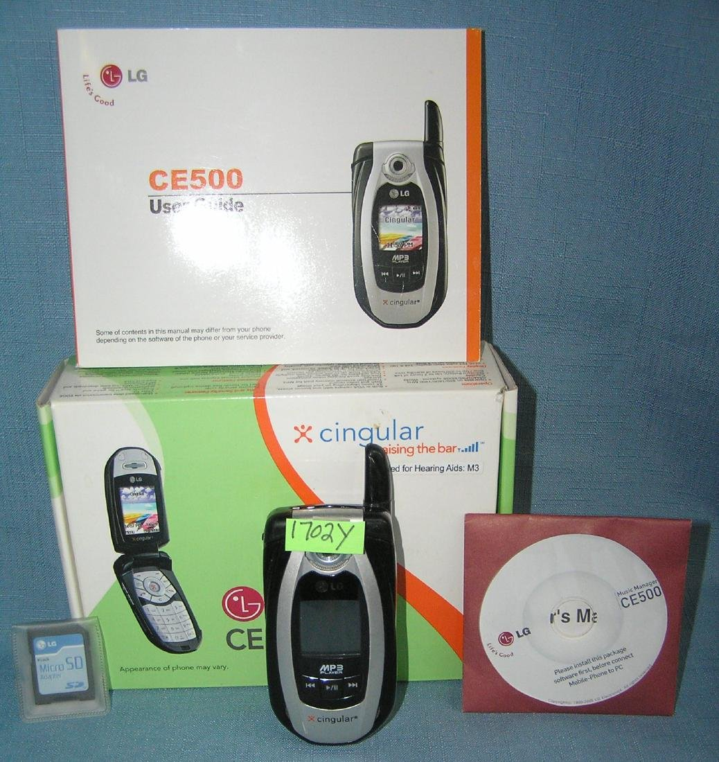 LG cell phone with box