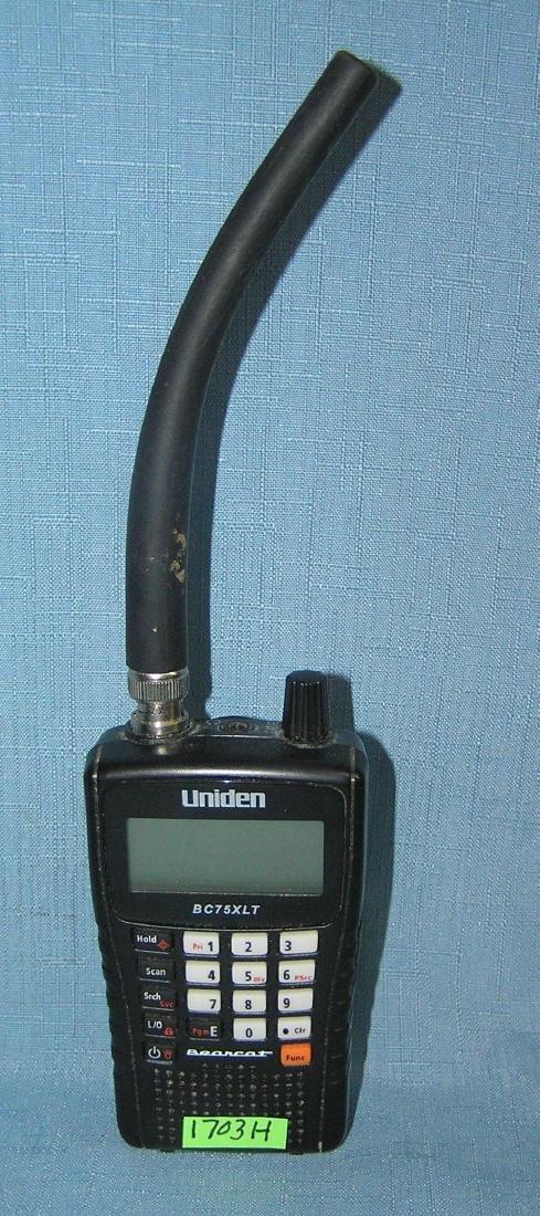 Uniden police scanner
