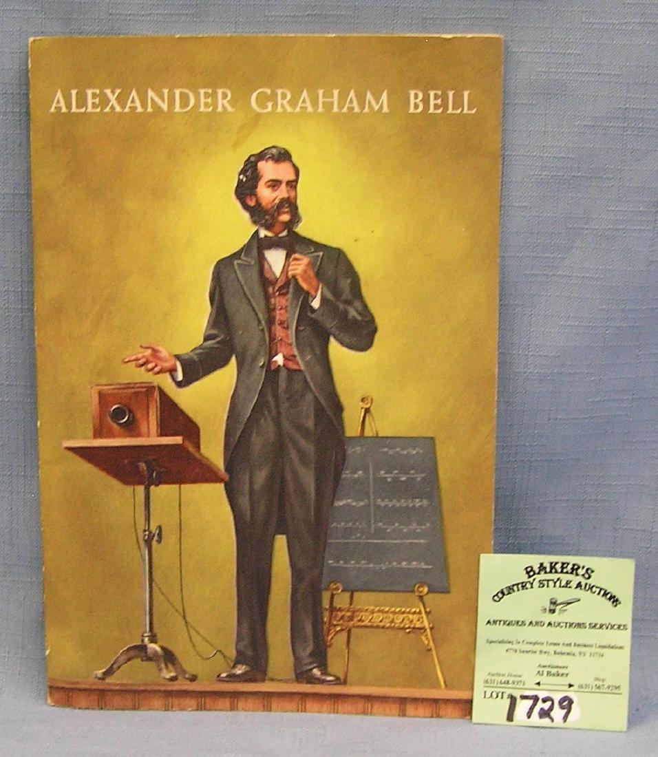 Vintage Alexander Graham Bell booklet