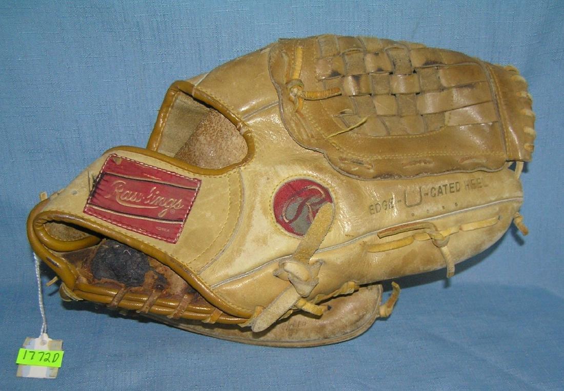 Greg Luzinski autographed model baseball glove