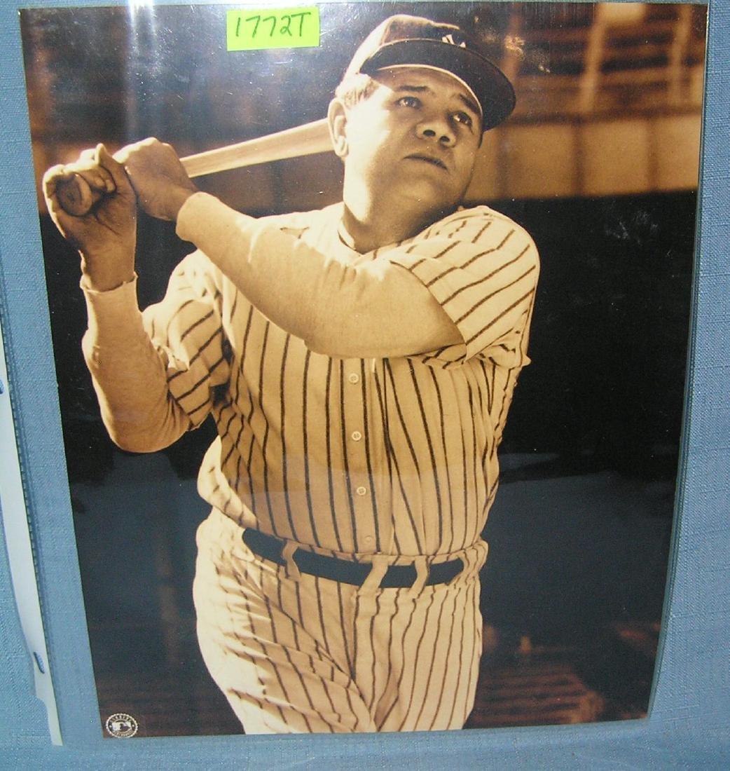 Babe Ruth 8X10 photo