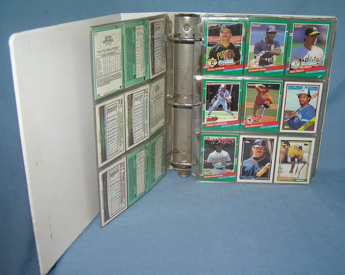 Large collection of vintage all star baseball cards