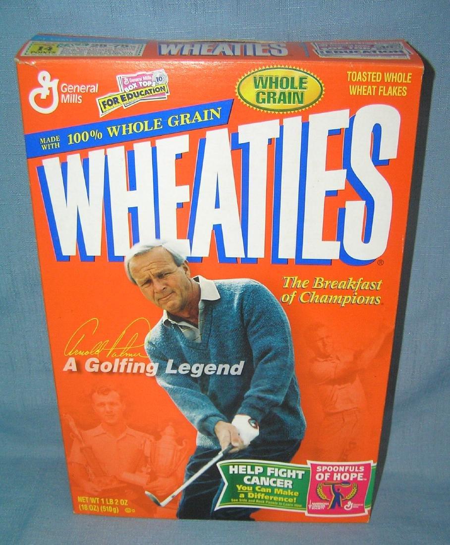 Arnold Palmer Wheaties box