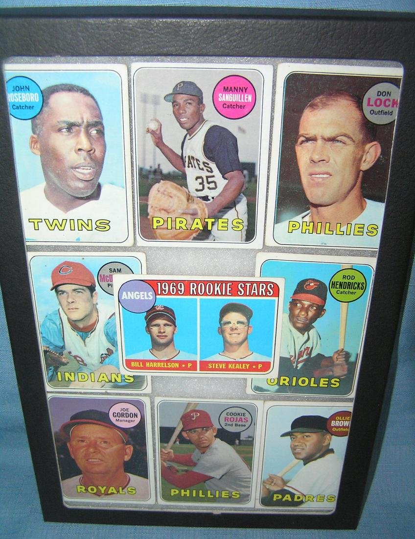 Group of early baseball cards with rookie card