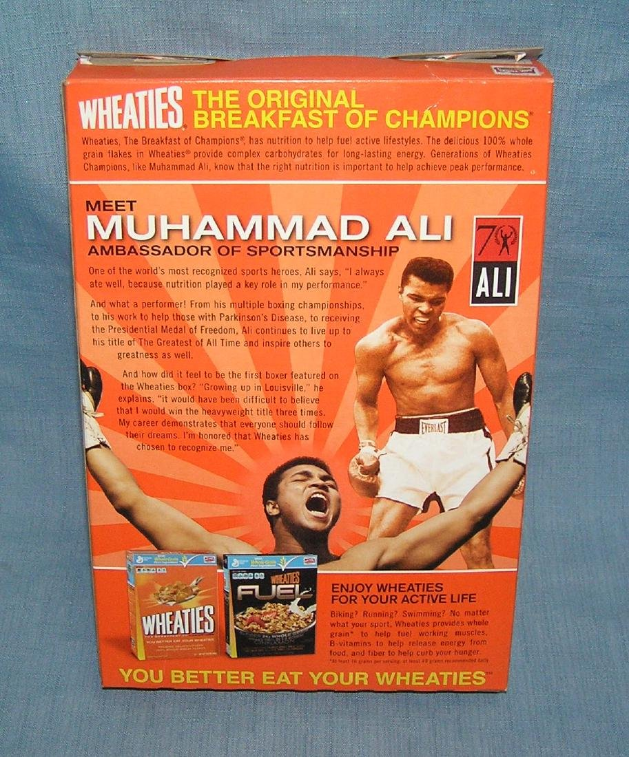 Muhammad Ali Wheaties cereal box - 2