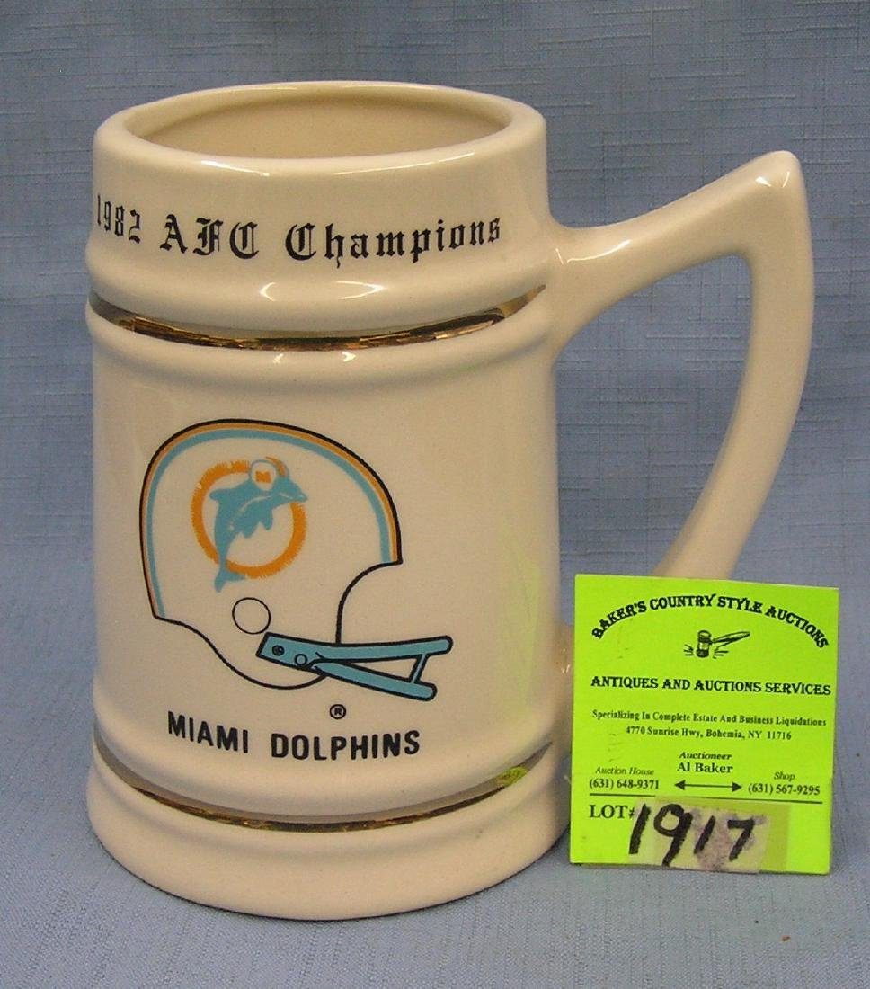 Miami Dolphins 1982 AFC championship mug