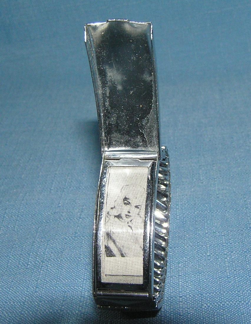 Locket bracelet with photo of Jane Mansfield