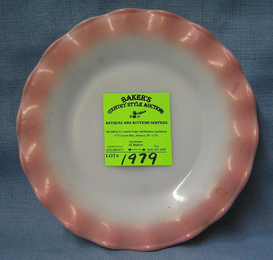Vintage two toned serving plate