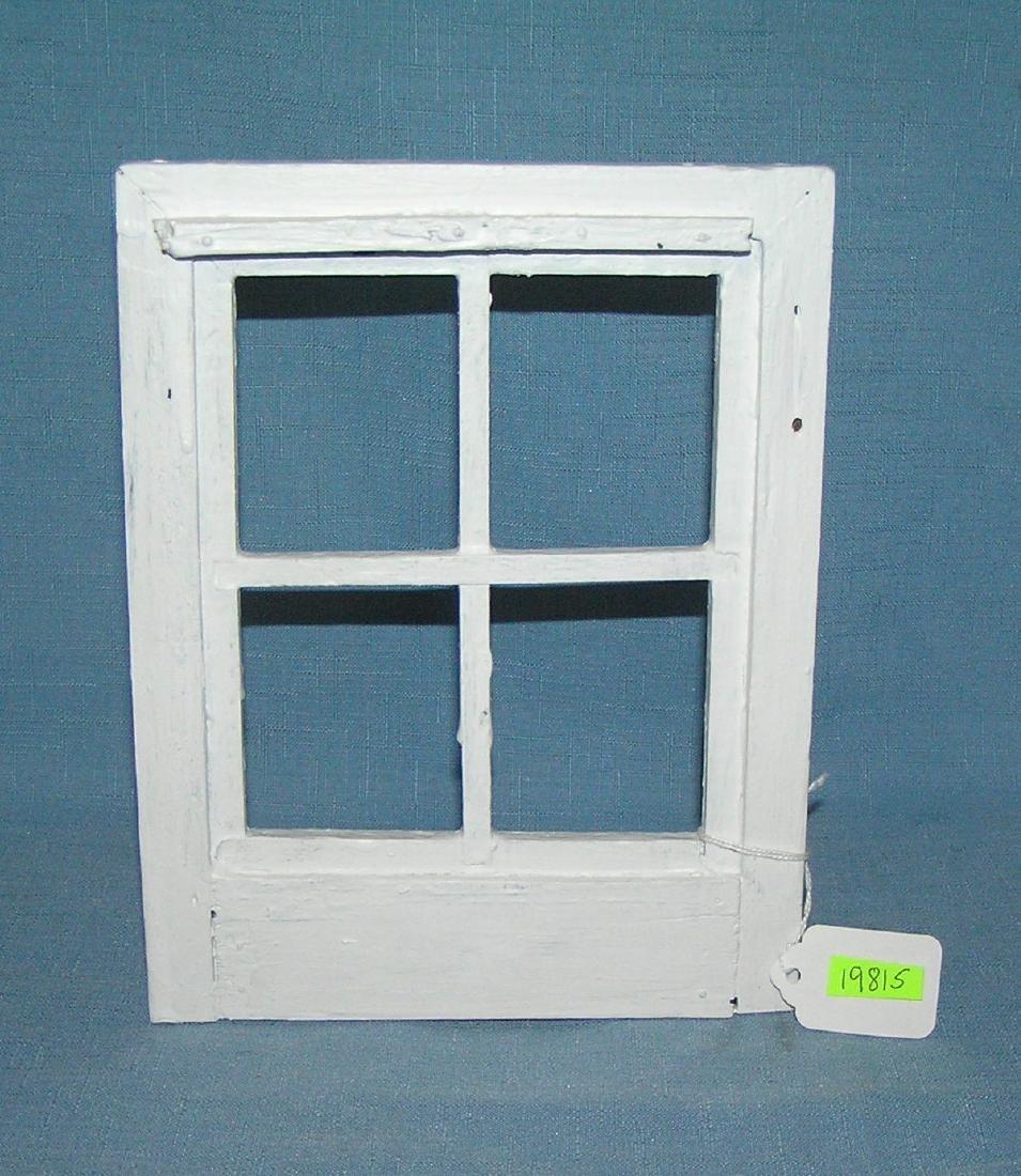 Miniature salesman sample window