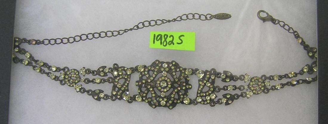 Signed U. C. L. M. tm choker necklace