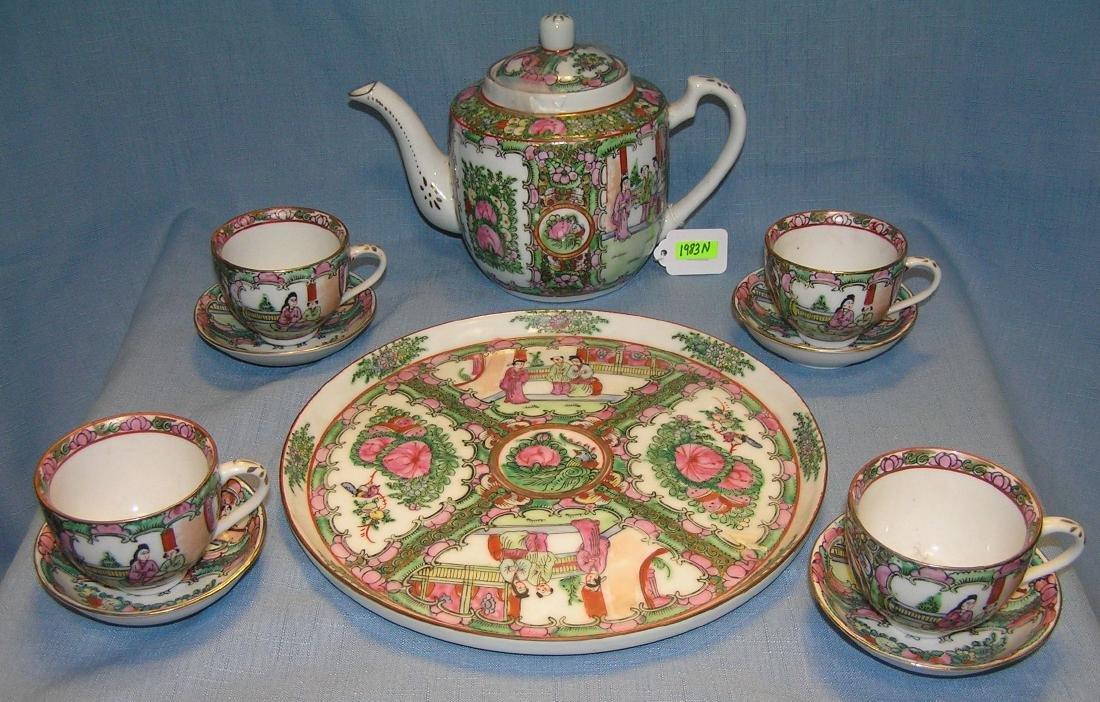 Antique high quality Chinese tea set