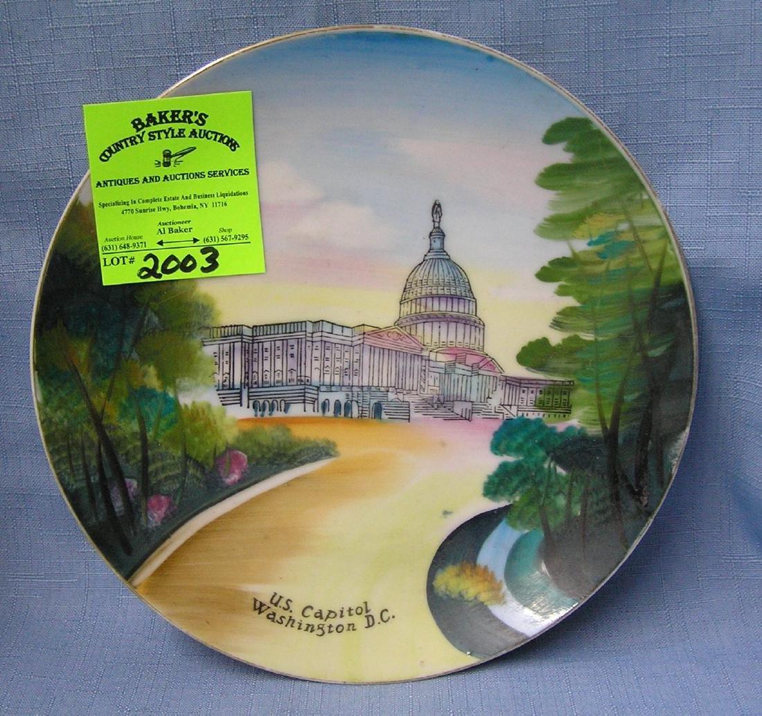 Vintage US Capital collectors plate
