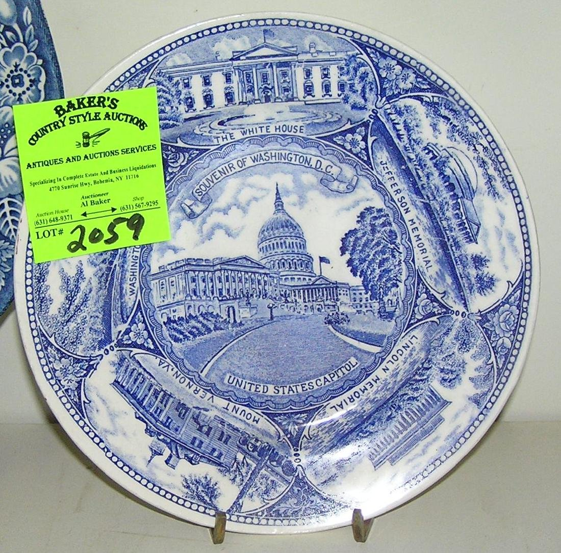 Souvenir plate of the United States Capital
