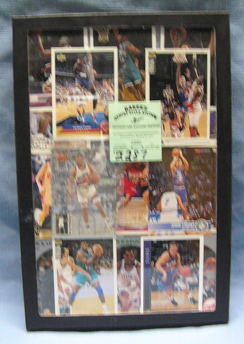 Collection of  vintage all star basketball cards
