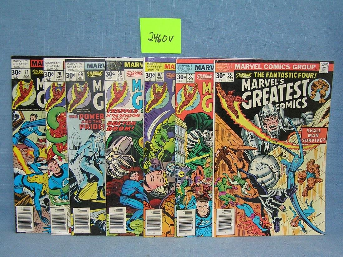 """Group of early Marvel""""s Greatest comics"""