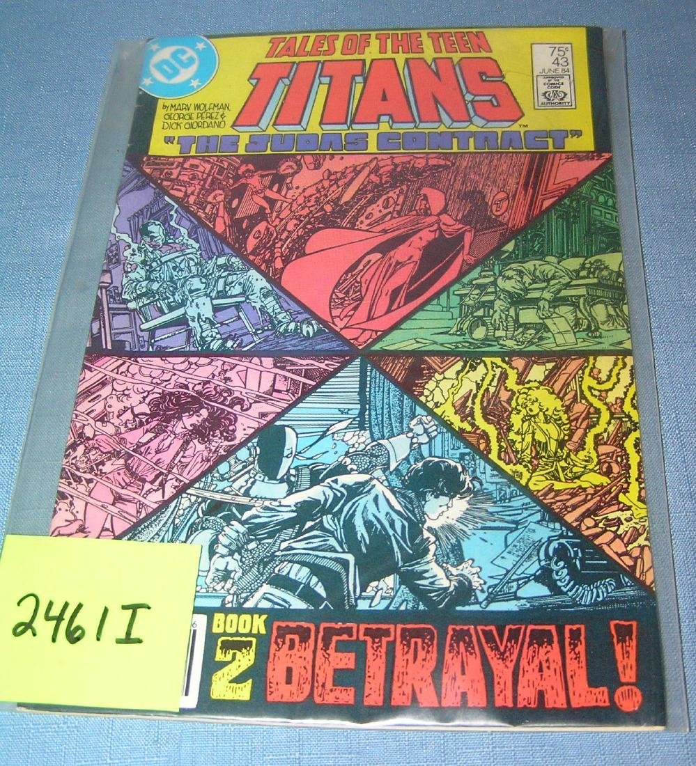 Tales of the Teen Titans number 43, 1984