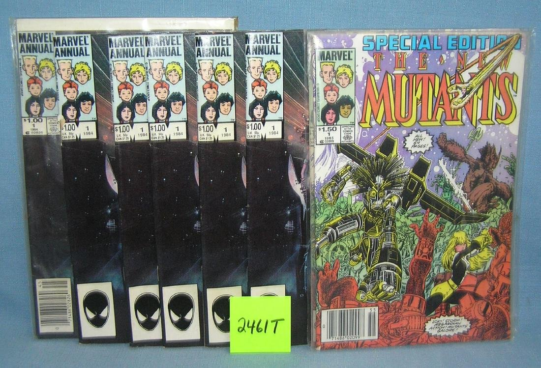 Marvel The New Mutants comic books