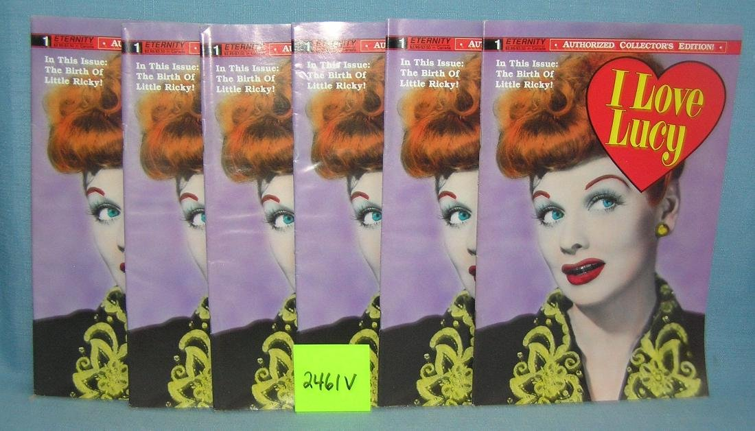 I Love Lucy comic books all first editions