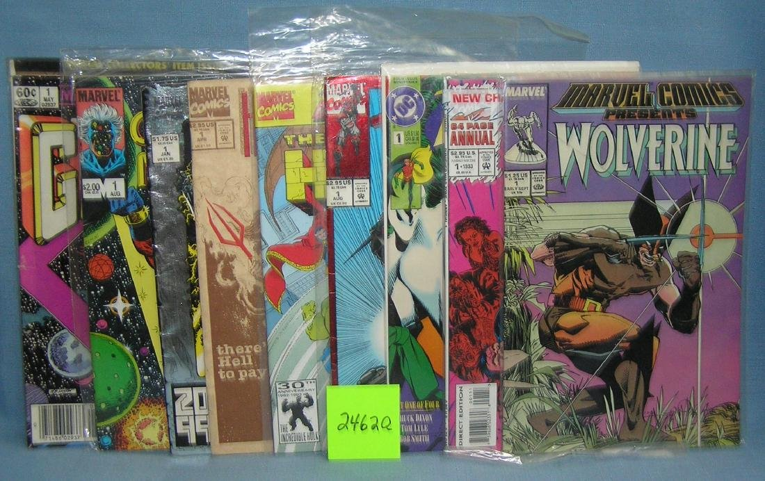 Vintage first edition comic books