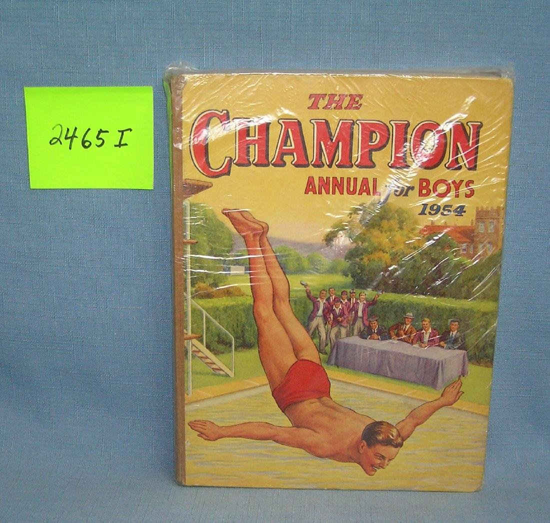 The Champion Annual Book for Boys 1954