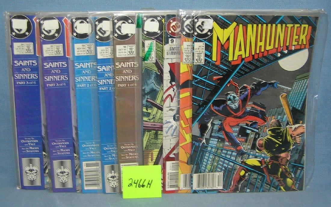 DC Manhunter comic books