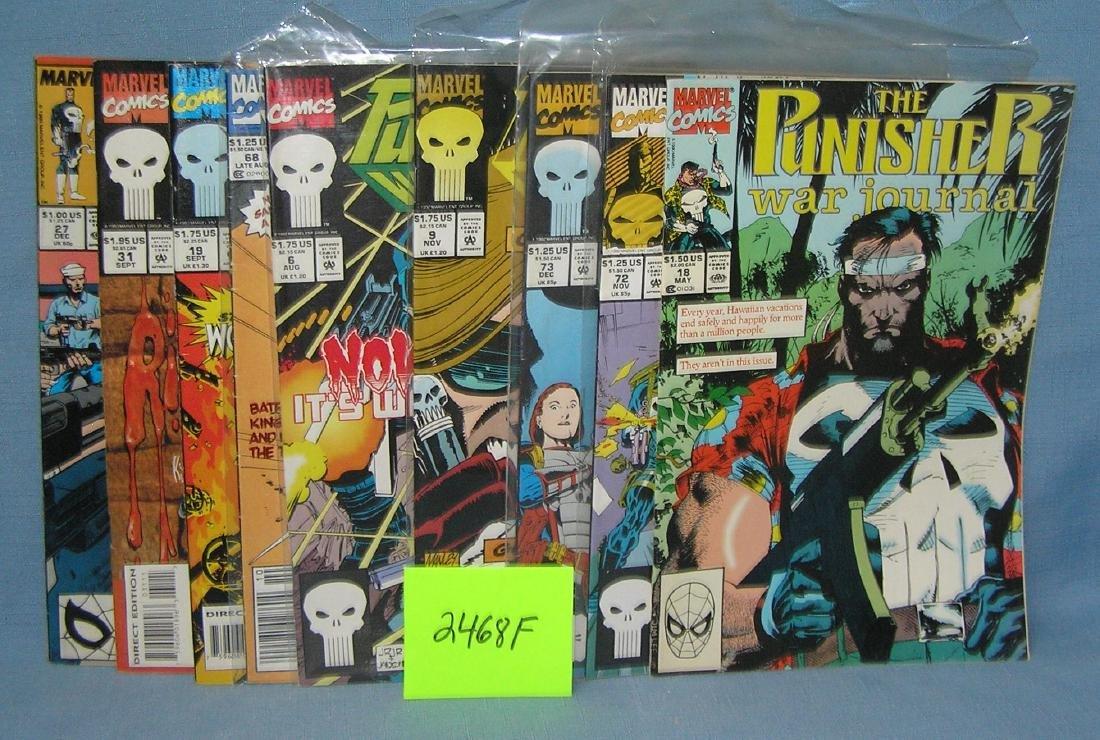 Marvel the Punisher comic books