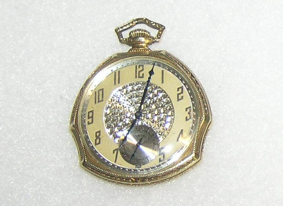 Elgin gold filled gentleman's pocket watch