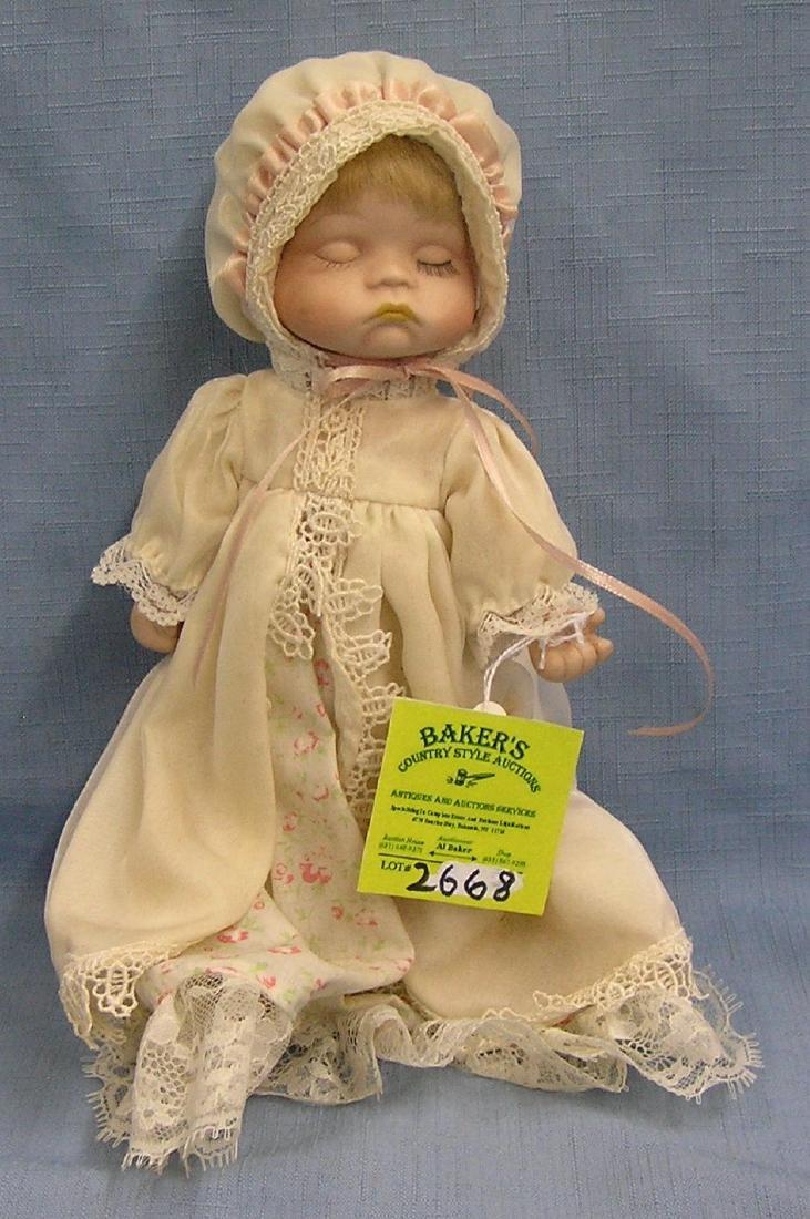 Vintage porcelain baby doll