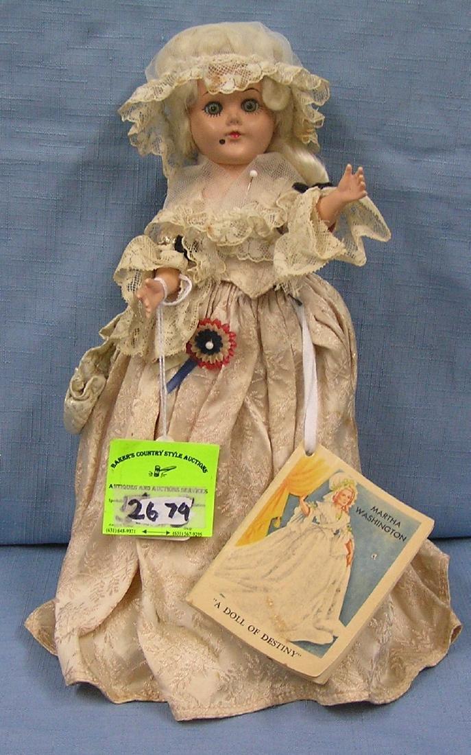 Vintage Martha Washington doll