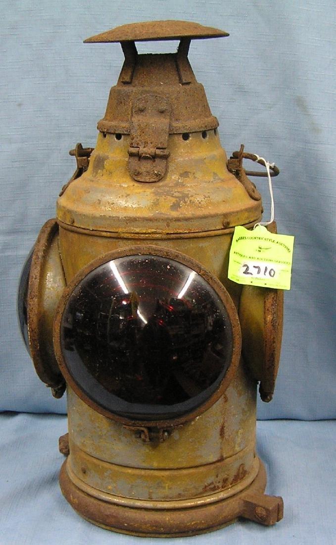 Antique RR signal lantern