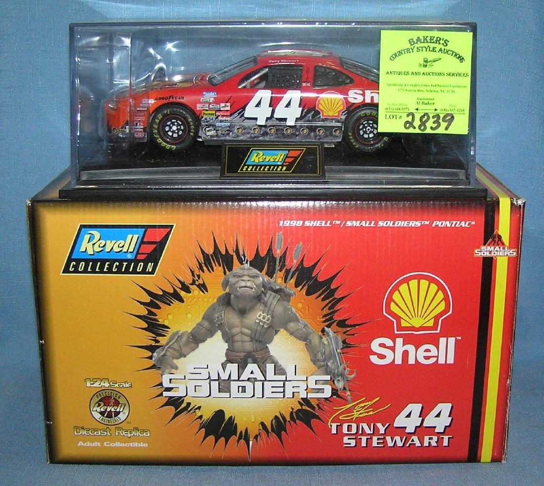 Vintage NASCAR Shell car #44 Tony Stewart
