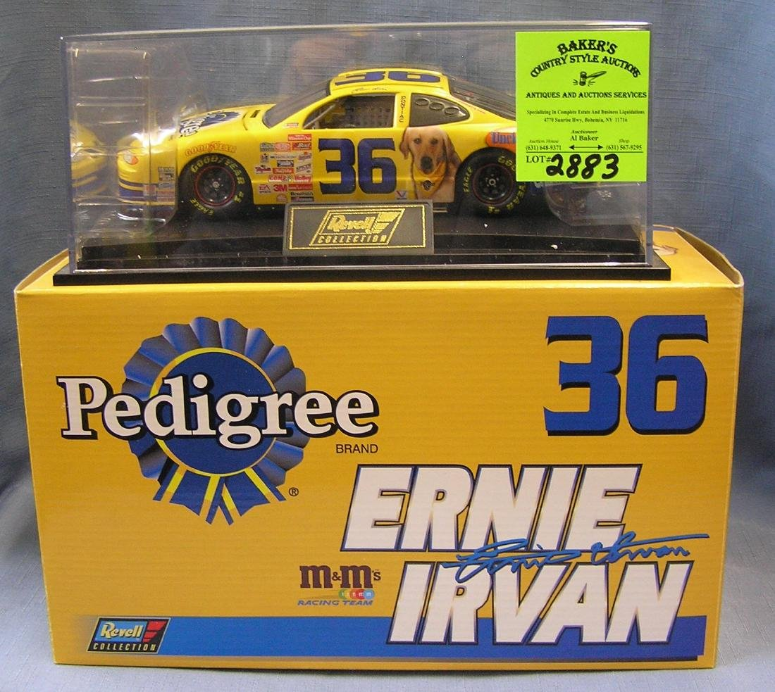 NASCAR Ernie Irving race car #36