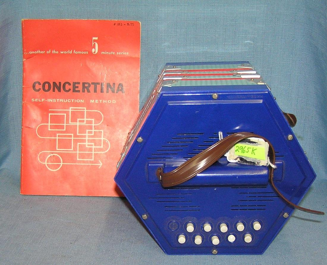 Vintage concertina made in Italy