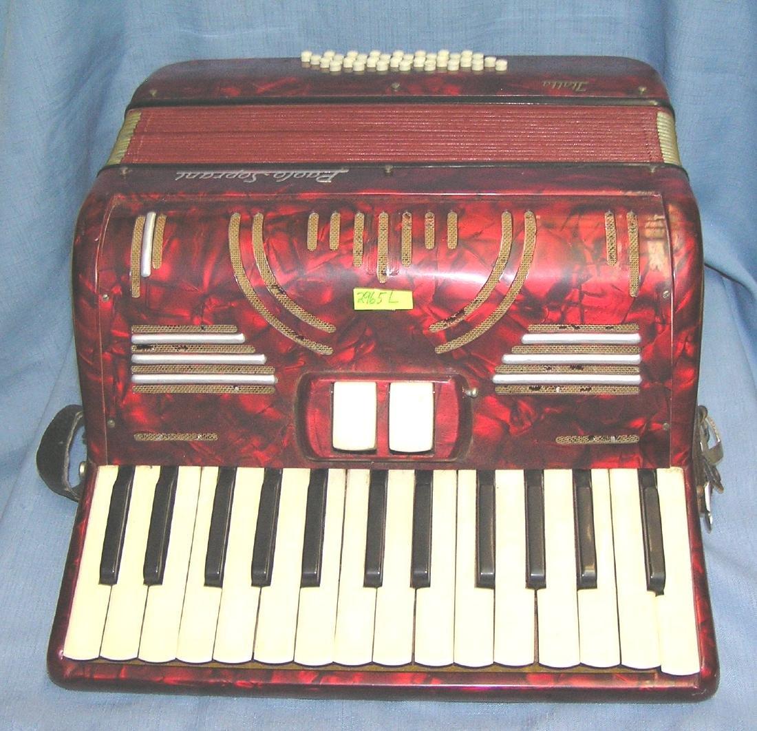 Vintage Paolo Soprani accordian