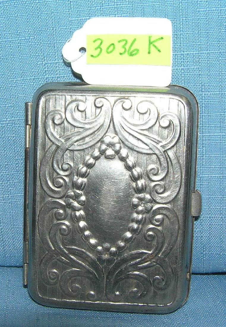 Antique change purse/compact case