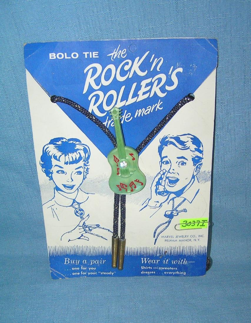 Rock and Rollers Bolo tie mint on display card
