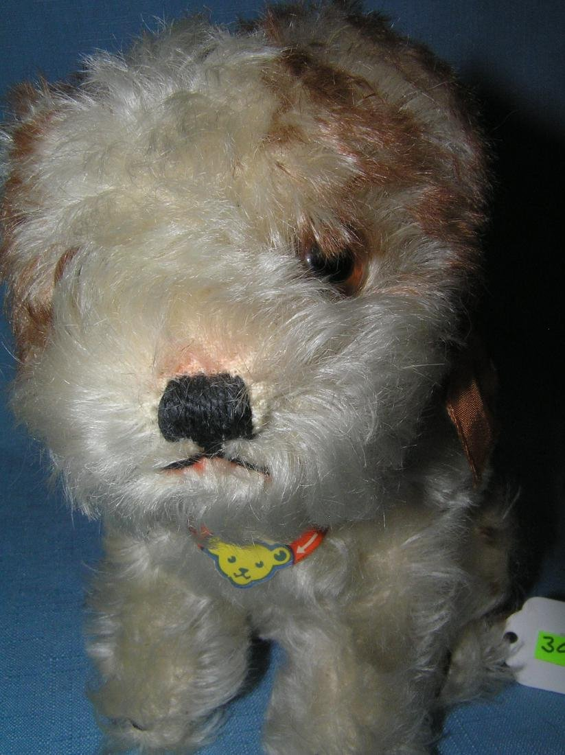 Molly original Steiff dog 8 inches with original tag